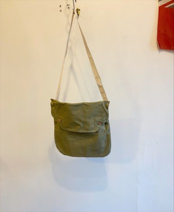 D/S 40's British Army Cotton Canvas Bag ③
