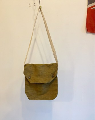40's British Army Cotton Linen Canvas Bag 3