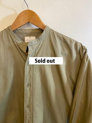 1964 British Army Officer Collar-less Shirt