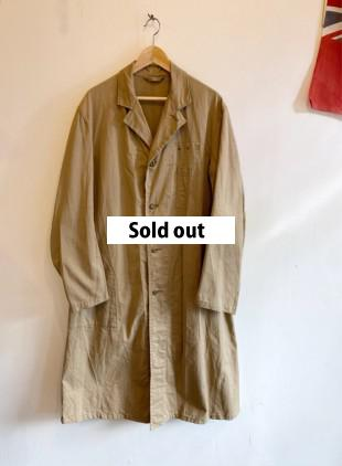 D/S GPO Cotton Drill Work Coat size10