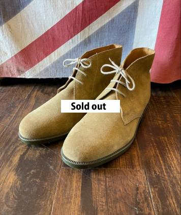 D/S British Army Desert Suede Chukka Boots size10