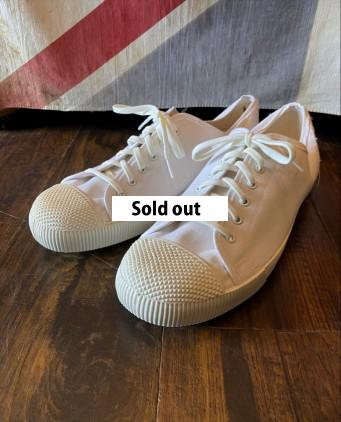D/S British Army Plimsolls White size10