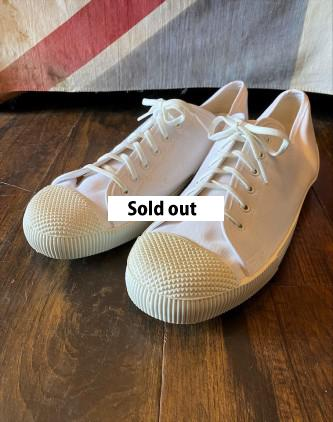 D/S British Army Plimsolls White size11